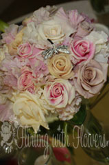 antique rose bouquet